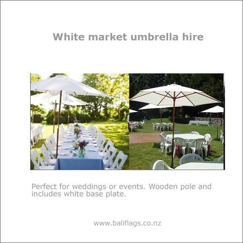 Umbrella Hire for Weddings, Private and Corporate Events - Brolly